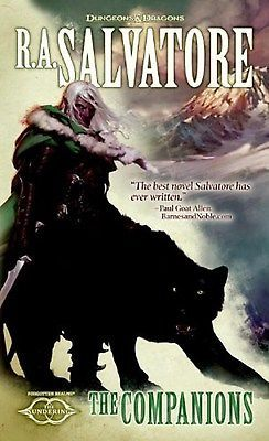 The Companions: The Sundering, Book I by R. A. Salvatore (Mass Market Paperback)