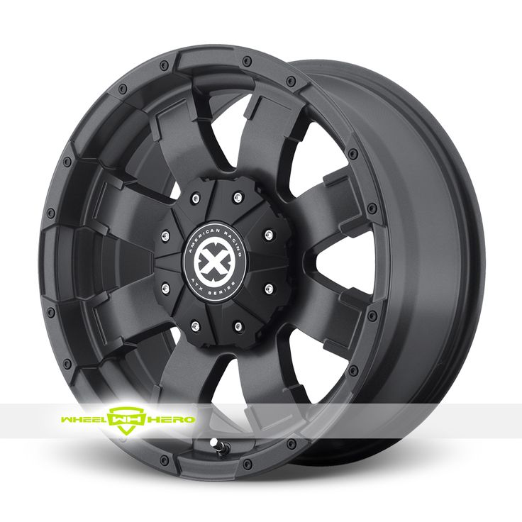 Atx Shackle Ax1916 Black Rims Black Rims Amp Black Wheels