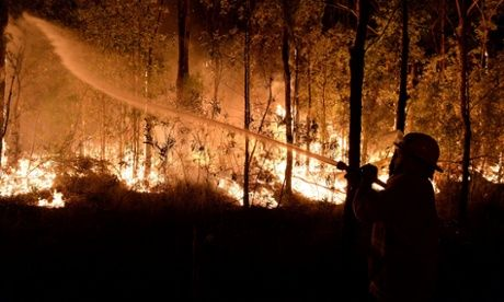 NSW Bushfires 17/10/13