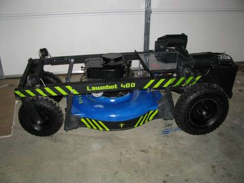 Arduino powered remote control lawnmower gadgets