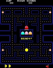 Pac Man Video Game...