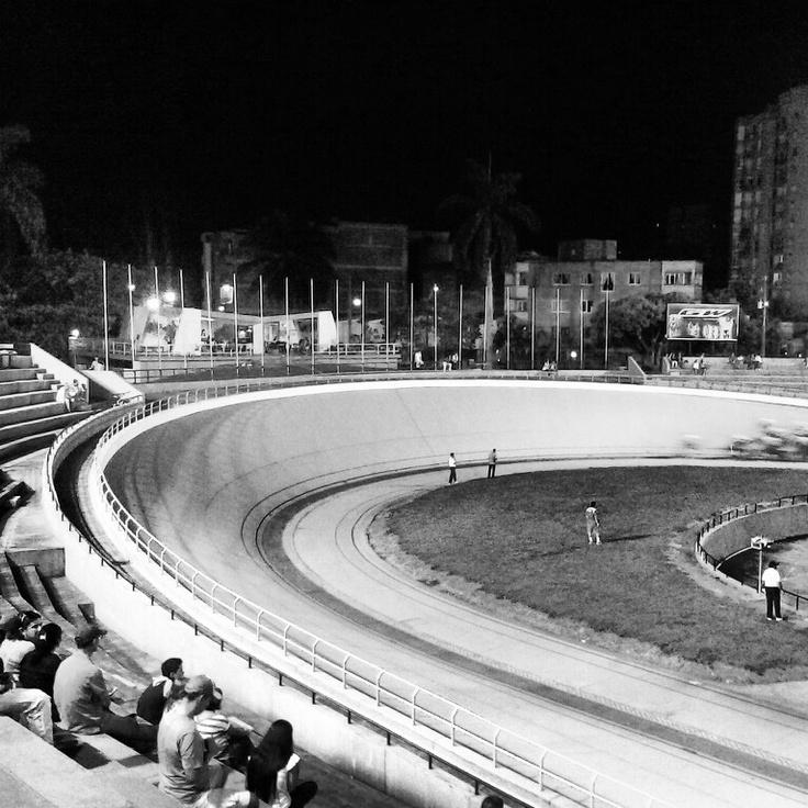 Velodromo Martin Emilio Cochice Rodriguez. Medellin