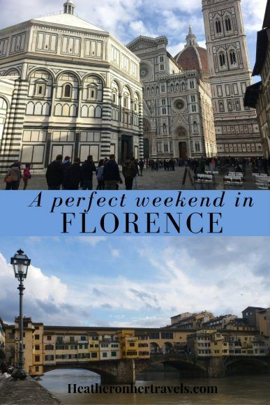 Read about how to spend a perfect weekend in Florence