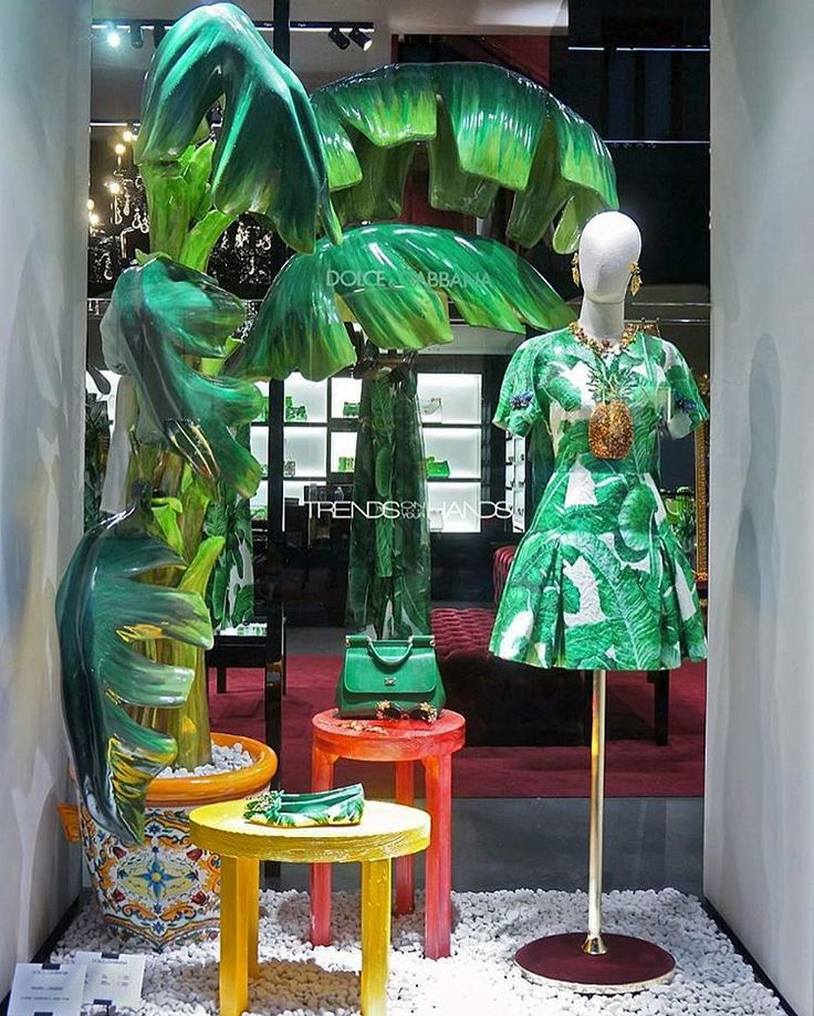 """DOLCE&GABANNA, Milan, Italy, """"Once a year go someplace you've never been before"""", pinned by Ton van der Veer"""