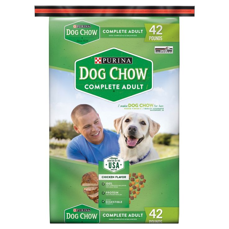 Purina Dog Chow Complete Adult Dry Dog Food - 42lbs