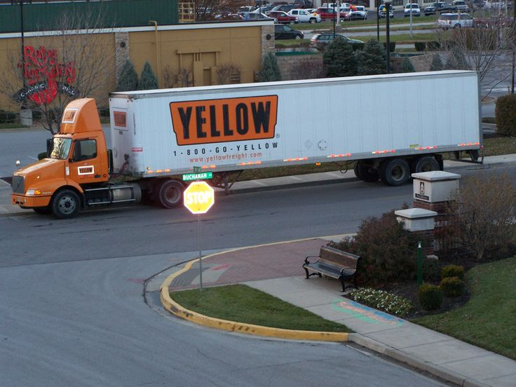 17 Best Images About Yellow Yrc Freight On Pinterest