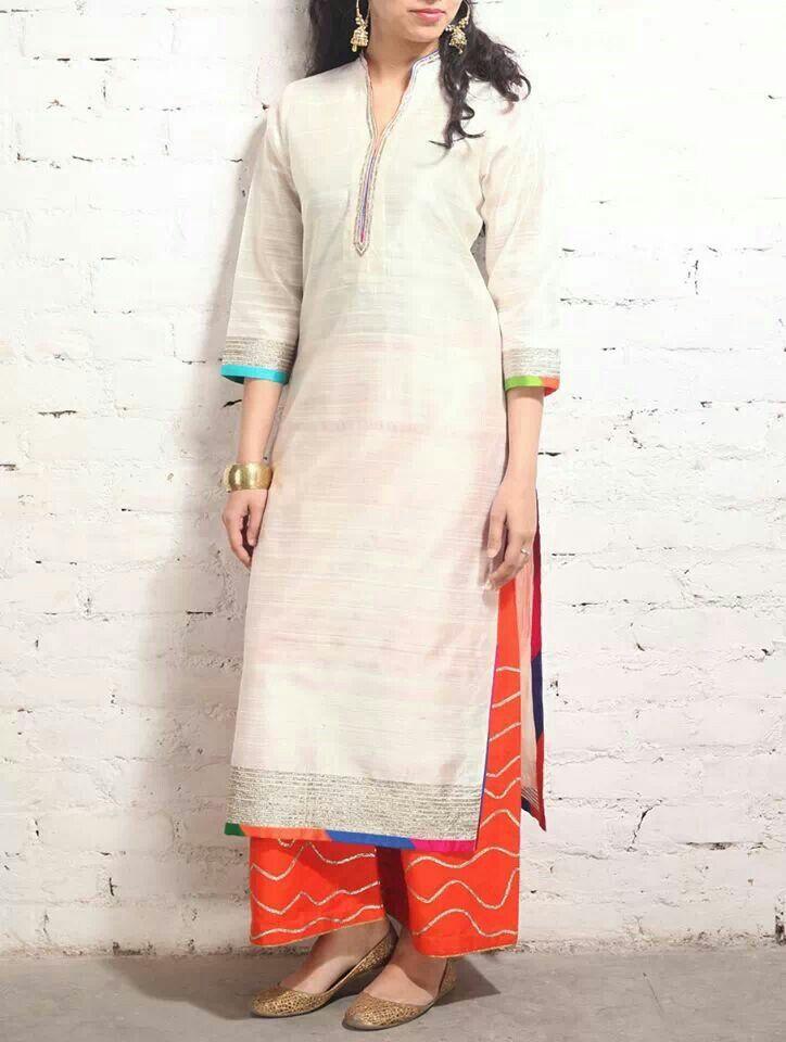 Jaypore - gota detail suit