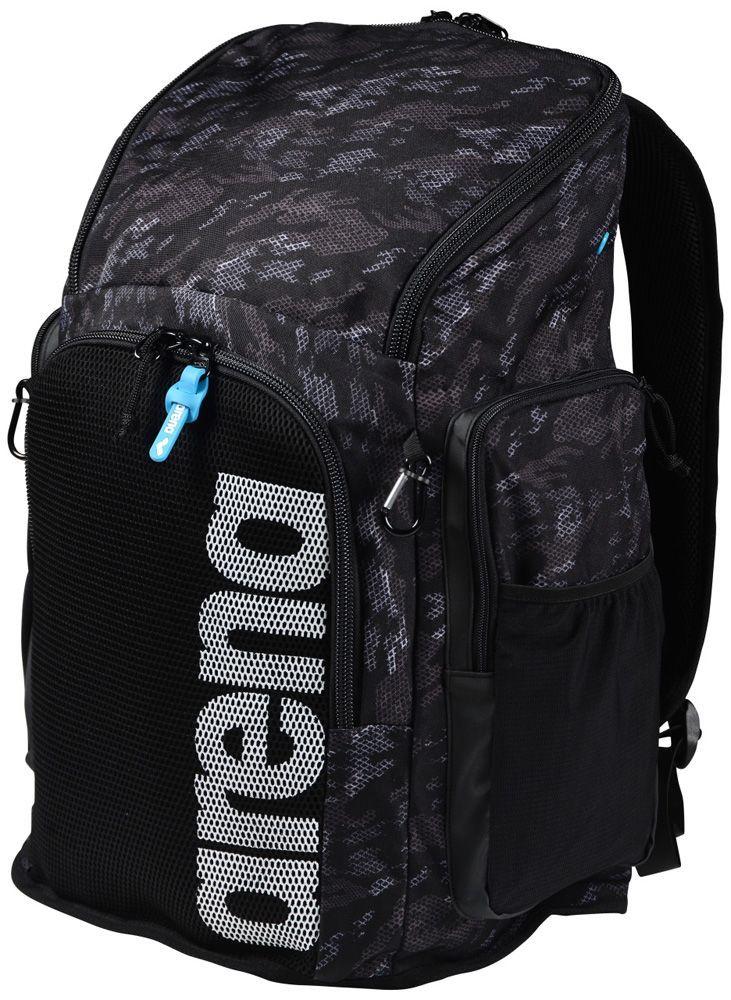 71c184b2e2 Arena Team 45 Backpack All Over (aok001946100) in Camo/Black | Swim ...