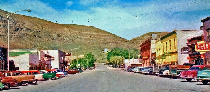 Arco Idaho 1950's-my grandmother and my parents owned the club cafe on the right.