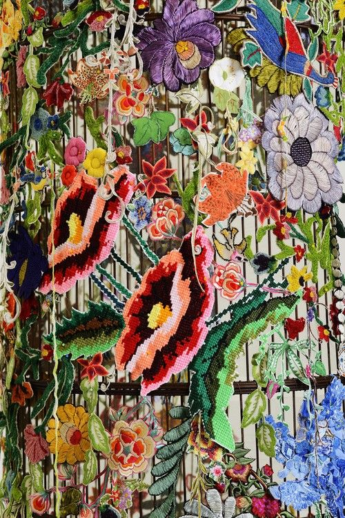 Pattern inspiration   Let the Jungle in 2013   Louise Saxton