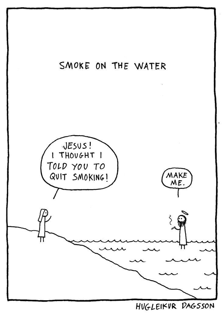 Smoke on the water - Hugleikur Dagsson