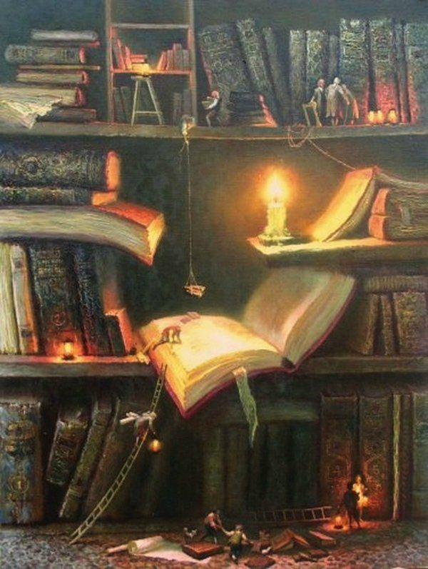 Сказки в картинках библиотека