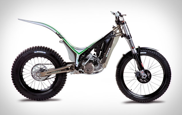 The OSSA TR 280i Trial Bike would be awesome to ride in the woods.