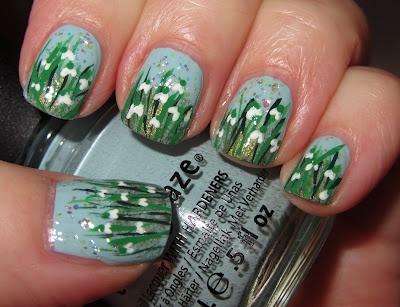 Snowdrops - vintergækker: Cute Nails Style, Favourit Flowers