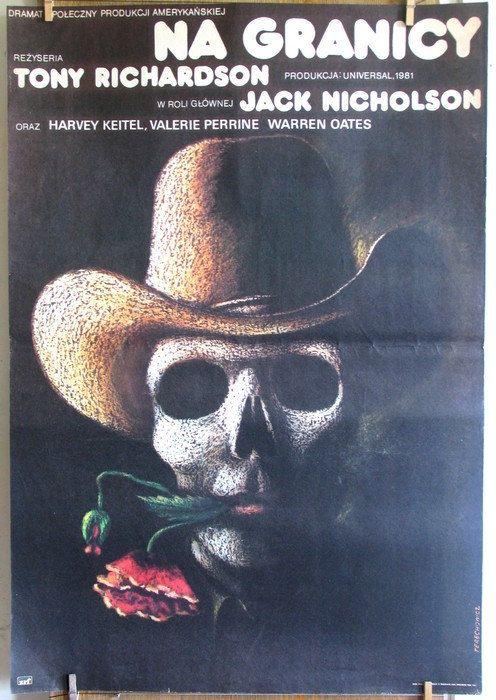 The Border  USA 1981s film by Tony Richardson. by artwardrobe, $59.99
