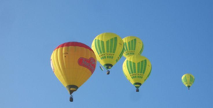 Romantische Ballonfahrt für Zwei Allmendingen #Ballon #Geschenk #Jahrestag