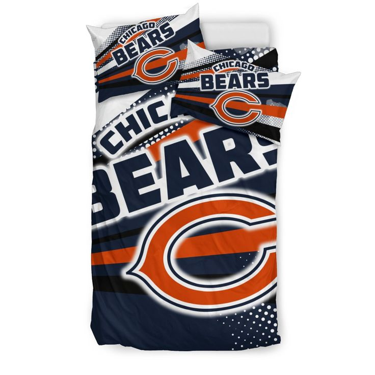 Colorful Shine Amazing Chicago Bears Bedding Sets – Best Funny Store