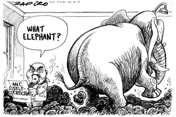 Zapiro: ANC self-criticism - Mail & Guardian
