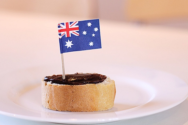 Dont forget vegemite sandwiches - essential for australia day