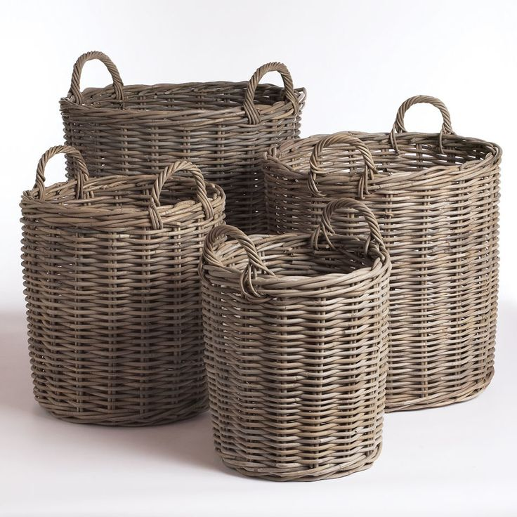 Perfect Normandy 4 Piece Basket Set | Wayfair
