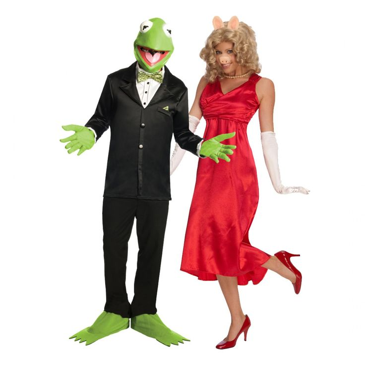 Image detail for -Kermit and Miss Piggy Costume (Muppets) - Adult Costumes For Couples