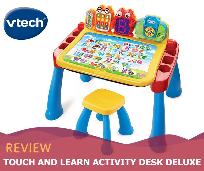 Vtech Touch And Learn Activity Desk Review 2020 Vtech Toy