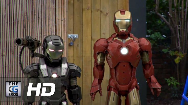 "CGI & VFX Short Films: ""Ironman & Warmachine Are Late For School""  - by ..."
