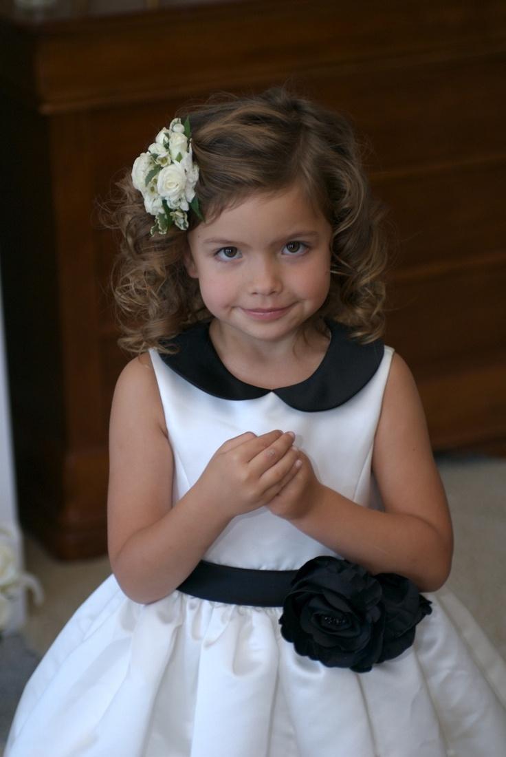 Fanciful Flower Girls Dresses Hair Accessories For The Littlest Wedding Attendant
