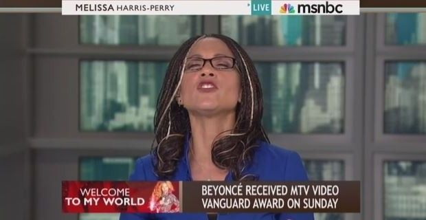 MSNBC HOST WISHES BEYONCE HAD APPEARED IN FRONT OF A HUGE 'ABORTION' SIGN Singer's 'feminist' statement not political enough for Melissa Harris-Perry