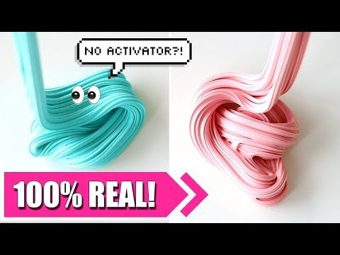How to make slime without activator and borax