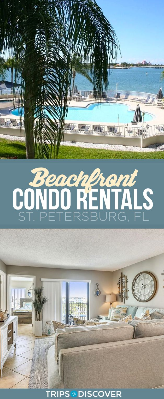 Rentals In St Pete Florida Over Christmas, 2020 The Best St. Pete Beachfront Condo Rentals in 2020 | Beachfront