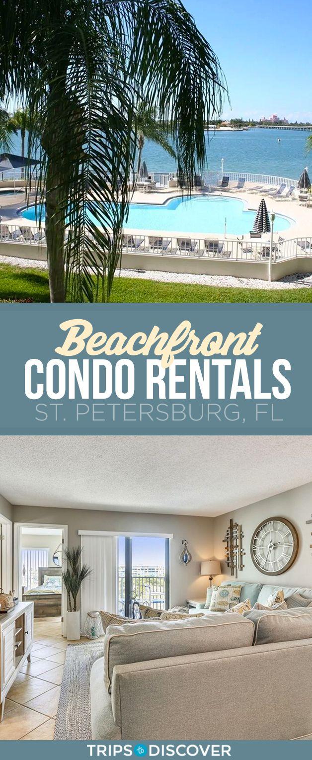 The Best St. Pete Beachfront Condo Rentals in 2020 | Beachfront