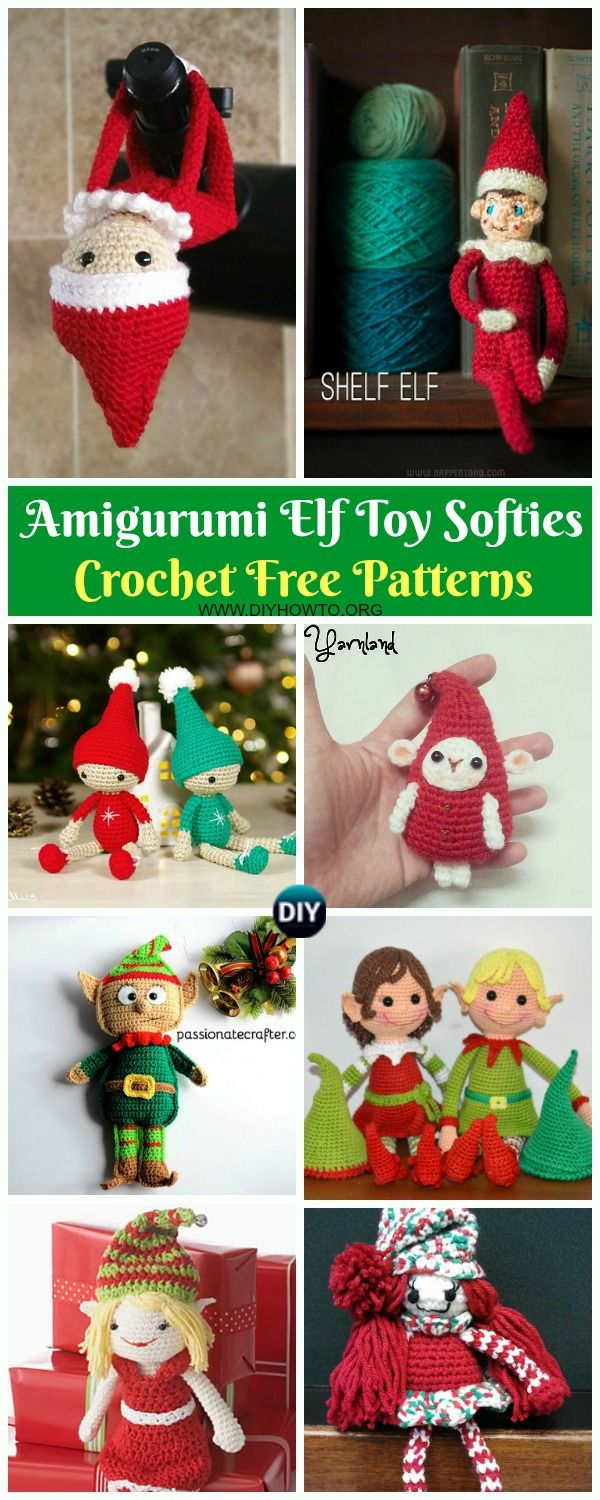 Amigurumi Crochet Christmas Softies Toy Free Patterns | Christmas ... | 1500x600