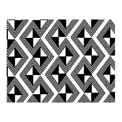 Африканский орнамент - геометрия и искусство
