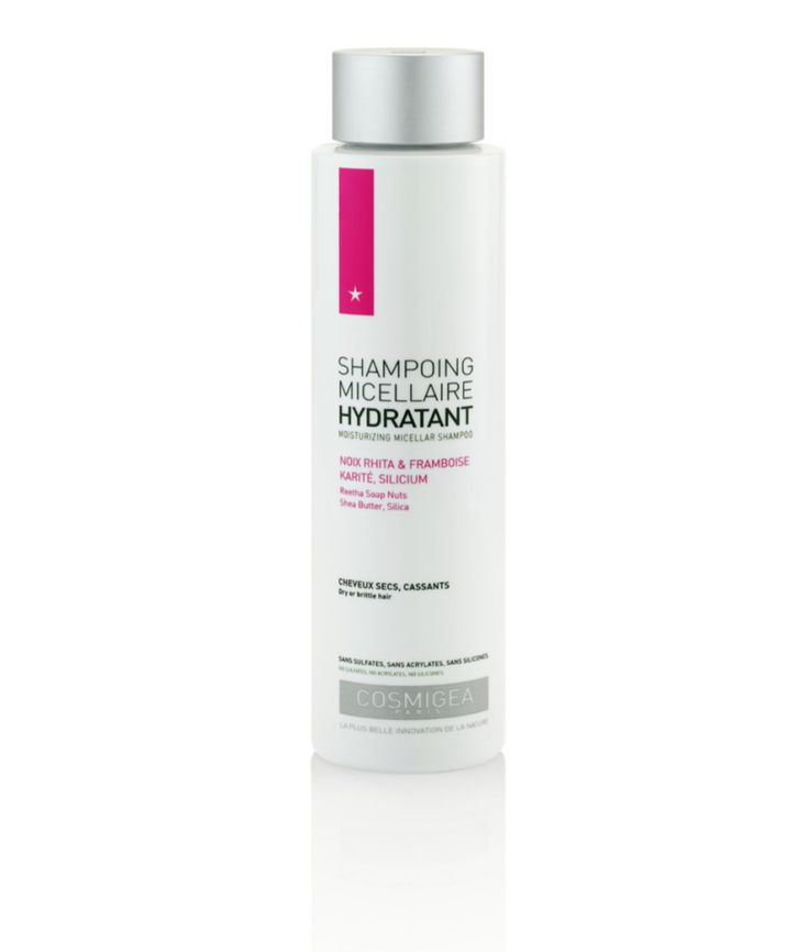Shampoing naturel hydratant micellaire