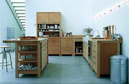 free standing kitchen cabinets ikea  i love this... of course its Ikea. ...and there's no Ikea in Tasmania : (