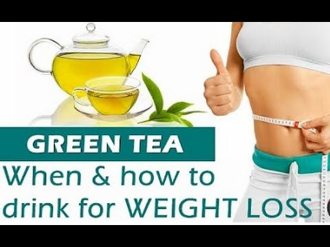 How to Lose Weight with this Green Tea Diet plan | Fast Weight Loss with Green Tea - YouTube