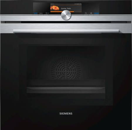 Siemens HM678G4S1B Built In Electric Single Oven Multifunction S/Steel