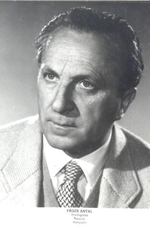 Páger Antal (Makó, 1899. január 29. – Budapest, 1986. december 14.) Kossuth-díjas magyar színművész, kiváló művész.
