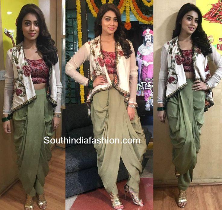 www.southindiafashion.com wp-content uploads 2017 01 shriya-saran-anand-kabra-dhoti-pants.jpg