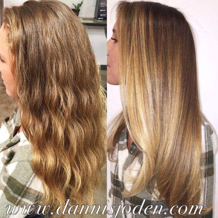 Gisele Bundchen / Victoria's Secret inspired balayage ombré. Hair by Danni in Denver, CO