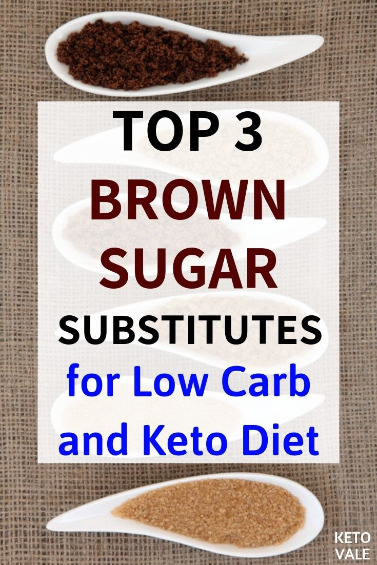 keto diet substitute for sugar