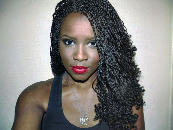 14++ Senegalese twist hair with curly ends trends