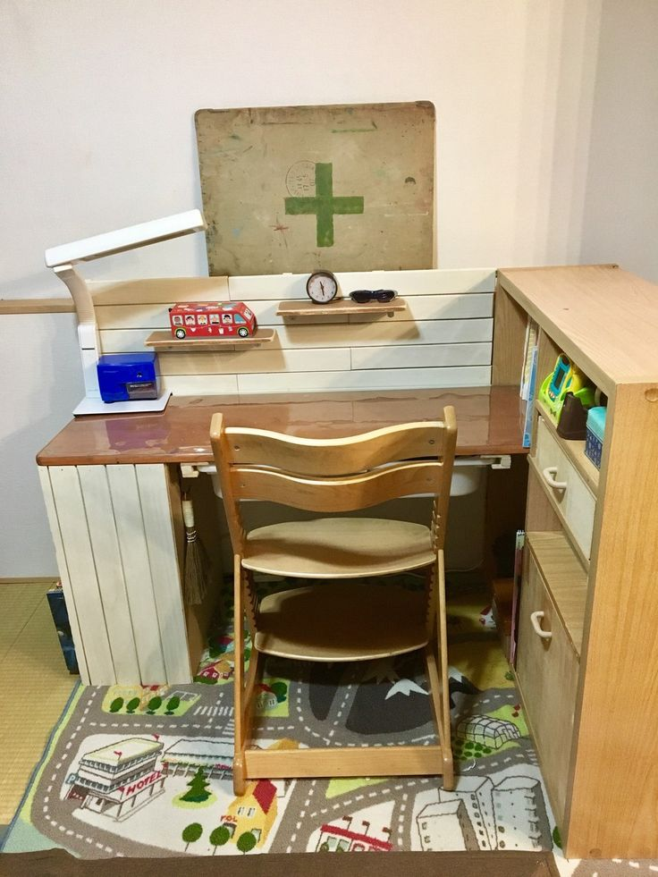 DIYカラボ勉強机➡︎リメイクで収納力大幅UP⤴︎