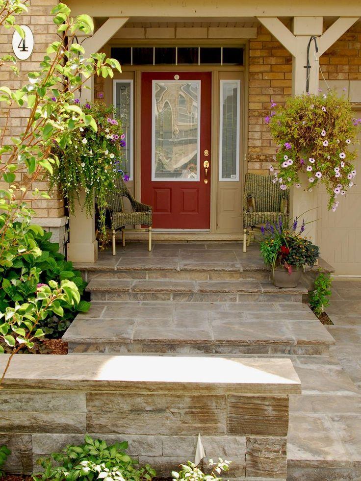 red front door on brick house. Surprising Best Front Door Colors For Brown Brick House Ideas Red On R
