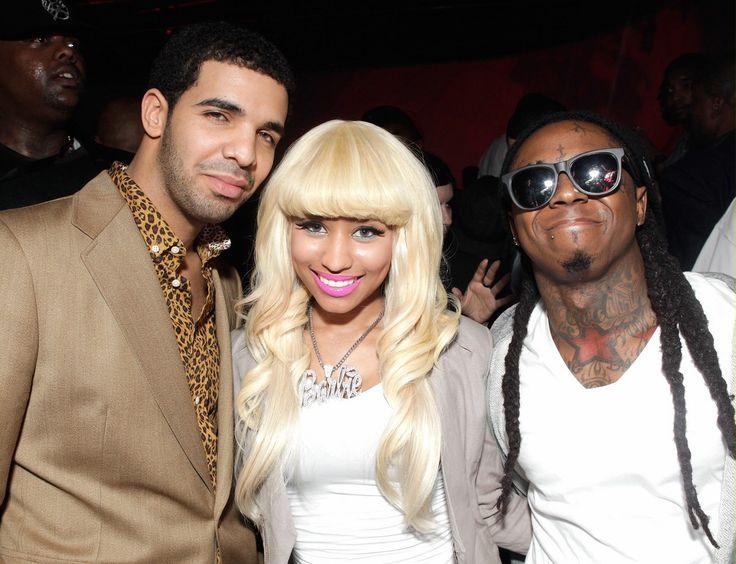 Lil Wayne Nicki Minaj Boyfriend | Nicki Minaj dating Rihanna, Diddy and her Young Money labelmates Drake ...