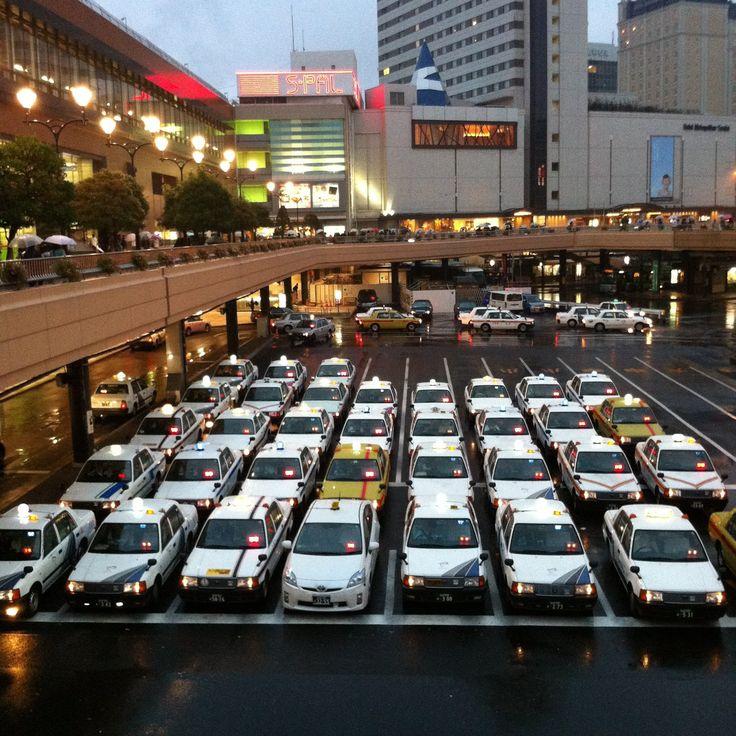 ふり〜フォトフォト〈著作権フリー無料画像〉: *タクシー,仙台駅〈著作権フリー無料画像〉Free Stock Photos