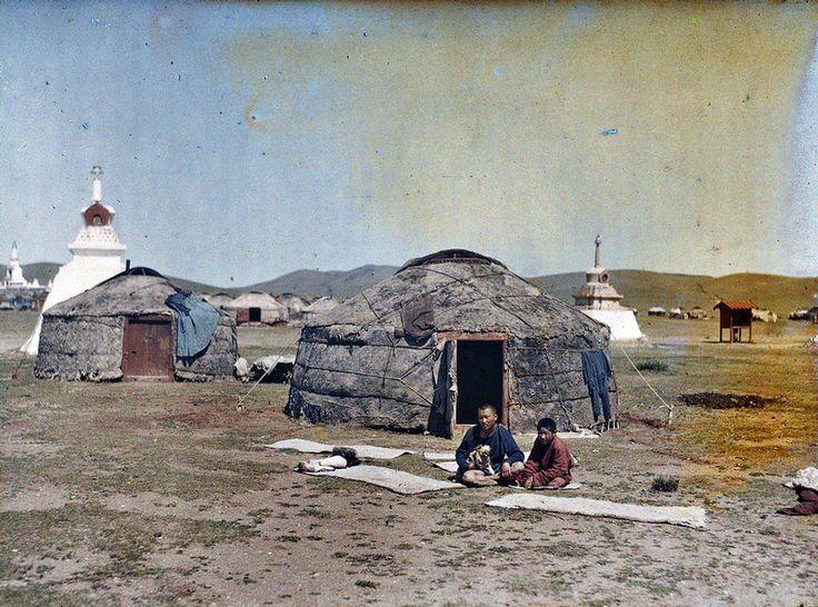 Mongolia in colour, 1913 - Retronaut