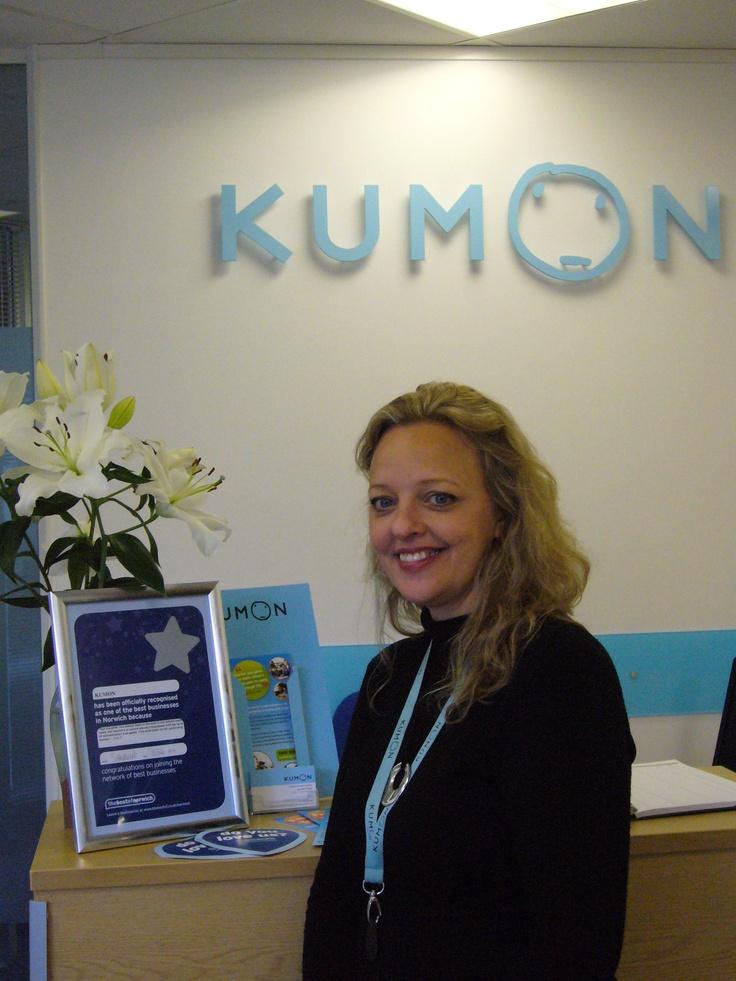 Jenny at Kumon English and Maths tuition Norwich