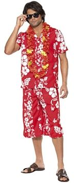 Get Into The Hawaiian Spirit With This Mens Luau Costume